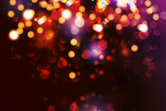 Christmas background with circular sparks. Vector Royalty Free Stock Photo