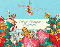 Christmas background colored Royalty Free Stock Image