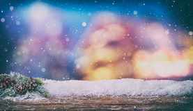 Christmas background concept. Royalty Free Stock Photo