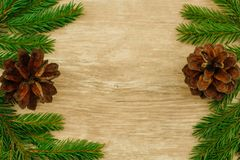 Christmas background. copy space stock image