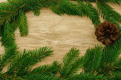 Christmas background. copy space royalty free stock photography