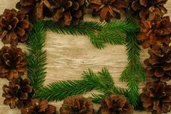 Christmas background. copy space royalty free stock photos