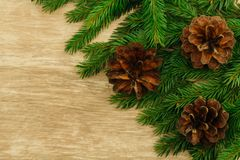Christmas background. copy space stock photography