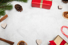 Christmas background (copy space) Royalty Free Stock Images