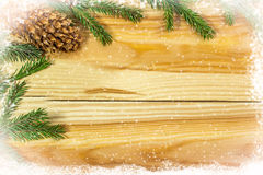Christmas background. Copy space Royalty Free Stock Images