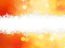 Christmas background with copy space. EPS 10. Vector file included Royalty Free Stock Image