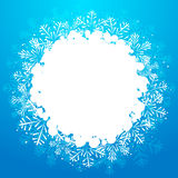 Christmas background with copy space Stock Images