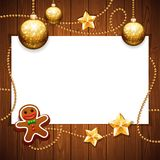 Christmas Background with Copy Space Stock Photos