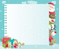Christmas background with copy space Stock Image