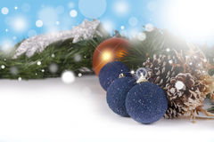 Christmas background with copyspace Royalty Free Stock Photo