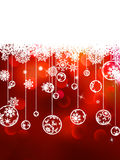 Christmas background with copyspace. EPS 8 Stock Photos