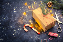 Christmas background with copyspace Royalty Free Stock Photography