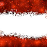 Christmas background with crystallic snowflakes. Royalty Free Stock Photography