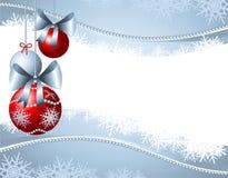 Christmas background customizable Royalty Free Stock Photography