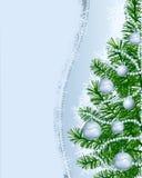 Christmas background customizable Stock Photo