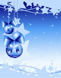 Christmas background customizable Royalty Free Stock Photo