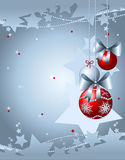 Christmas background customizable Royalty Free Stock Photography