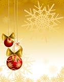 Christmas background customizable Stock Photography