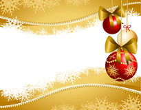 Christmas background customizable Royalty Free Stock Images