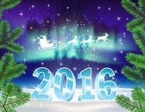 2016 christmas background. Stock Photography