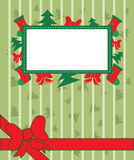 Christmas Background with decoration Royalty Free Stock Image