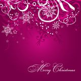Christmas background with decoration Royalty Free Stock Photography