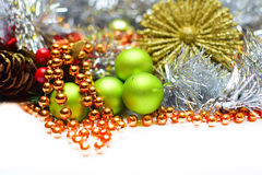 Christmas background Stock Photos