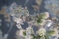 Christmas background with decoration stuff Stock Photography
