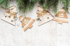 Christmas vintage background Royalty Free Stock Image