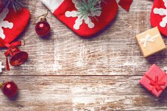 Christmas background 2018 Stock Photography