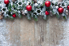 Christmas background with decorations Royalty Free Stock Photo