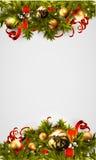 Christmas background decorative Royalty Free Stock Photos