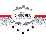 Christmas background with decorative elements. Vector Royalty Free Illustration