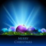 Christmas background. Christmas decorative holiday neon background royalty free illustration