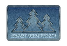 Christmas background. Denim background . eps10 Stock Images