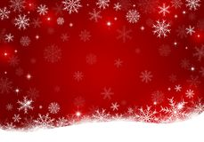 Christmas background design of snowflake with copy space. Vector illustration Royalty Free Stock Photo