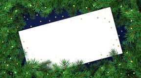 Christmas background design stock illustration