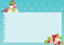 Christmas background with empty blank for text Stock Photography
