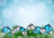 Christmas background with empty space for image and text vector Royalty Free Stock Photo