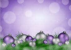 Christmas background with empty space for image and text vector Stock Photo