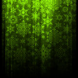 Christmas background. EPS 10. Beautiful green magical Christmas background. EPS 10 vector file included Stock Photography