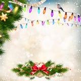 Christmas background. EPS 10 Royalty Free Stock Images