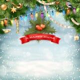 Christmas background. EPS 10 Royalty Free Stock Photo