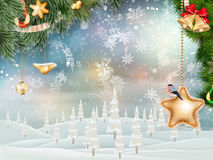 Christmas background. EPS 10 Stock Images