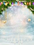 Christmas background. EPS 10 Royalty Free Stock Photos