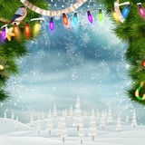 Christmas background. EPS 10 Stock Photos