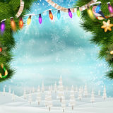 Christmas background. EPS 10 Royalty Free Stock Photos