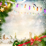 Christmas background. EPS 10 Stock Image