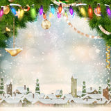 Christmas background. EPS 10 Stock Image