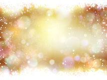 Christmas Background. EPS 10. Twinkly Lights and Stars Christmas Background. EPS 10 vector file Stock Photos